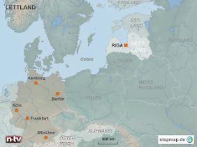Beitritt in schweren Zeiten: Wenn alles klappt, wird Lettland im Sommer offiziell zu Mitglied Nr. 18 der Eurozone.