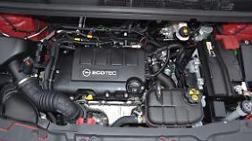 Der 1,4-Liter Turbo-Benziner ist nach hinten raus etwas durchzugsschwach.