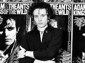 Den Durchbruch schaffte der Sänger noch mit der Gruppe Adam And The Ants 1980.