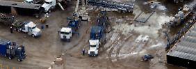 """Streit um Erdgasförderung: """"Es wird kein Fracking geben"""""""