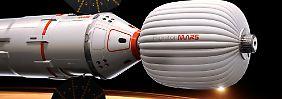 500 Tage im Weltall: Ehepaar soll Mars umkreisen