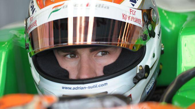 Wieder da:Adrian Sutil.