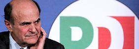 """""""Nennen Sie es, wie Sie wollen"""": Bersani pfeift auf Mehrheit"""