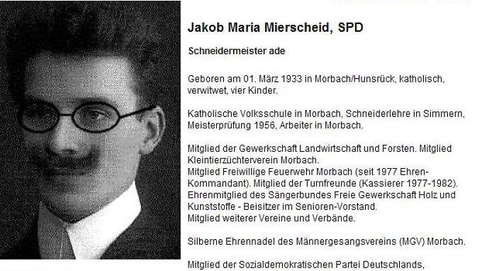 """Ein ganz besonderer """"Kollege"""": Jakob Maria Mierscheid"""