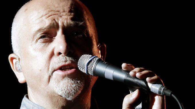Peter Gabriel sucht neue Wege der Verständigung.