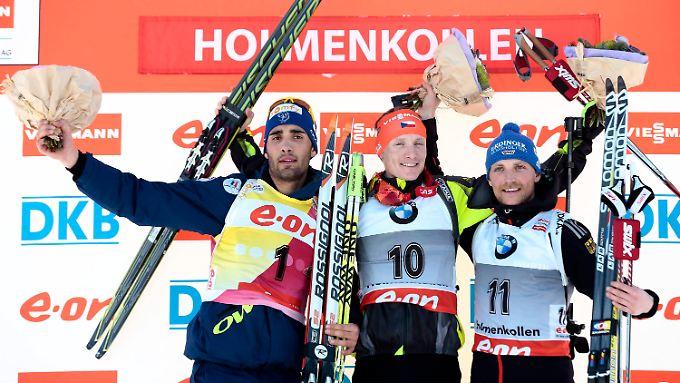 Erik Lesser beendete die deutsche Ergebniskrise in Oslo.