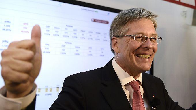 Peter Kaiser beansprucht nun das Amt des Landeshauptmanns von Kärnten für sich.