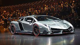 Mit dem Veneno macht Lamborghini Erzfeind Ferrari erneut Druck.