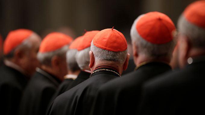 115 Kardinäle sind berechtigt, über den neuen Papst abzustimmen.