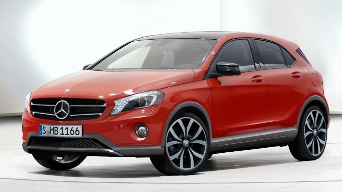 Auf der Basis des Renault Clio will Mercedes die X-Klasse auf den Markt bringen.