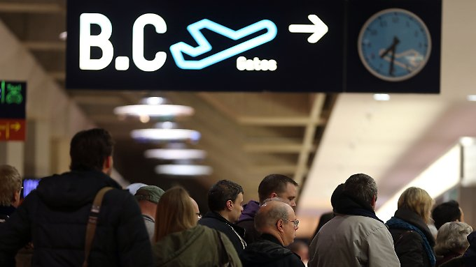 Schon Mitte Februar wurde der Flughafen Köln-Bonn bestreikt.