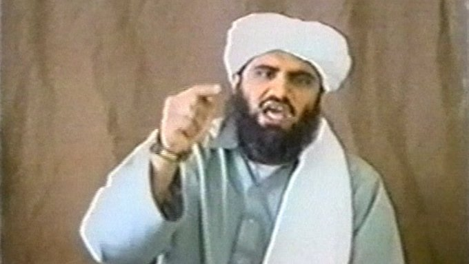 Sulaiman Abu Ghaith in einem Propaganda-Video.
