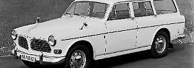 Der Volvo Amazon Kombi war zwischen 1962 und 1969 ein gängiges Modell. Heute ist er ein begehrtes Sammlerstück.