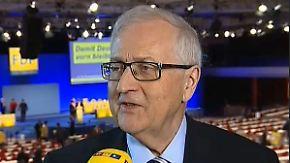 """Rainer Brüderle im n-tv Interview: """"Die Arbeitsteilung ist klar"""""""