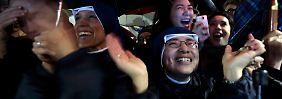 """""""Dass wir das miterleben dürfen!"""": Rom begrüßt neuen Bischof"""