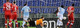 Europa-League-K.o. im Geisterspiel: Lazio lässt Stuttgart keine Chance