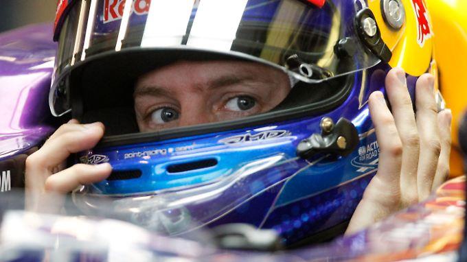 Die Konkurrenz verbündet sich: Sebastian Vettel.