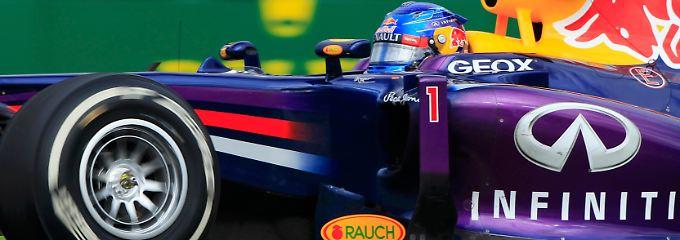 Sebastian Vettel konnte seine Pole nicht bis zum Ziel verteidigen.