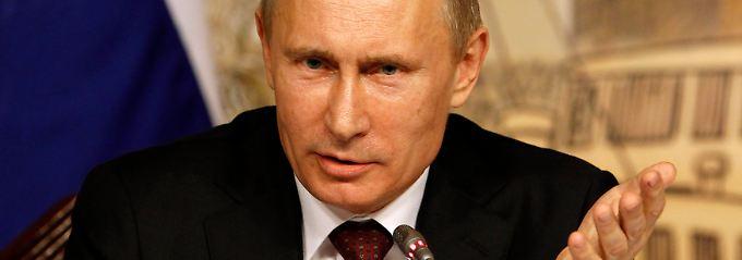"""Die Zypern-Abgabe betrifft wohl eine stattliche Anzahl Russen: Wladimir Putin hält die Beteiligung für """"gefährlich""""."""