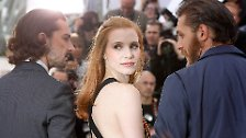 The Lady in Red!: Jessica Chastain, Diva mit Bodenhaftung