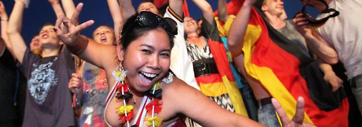 Fans im Freudentaumel: Deutschland ist glücklicher WM-Dritter