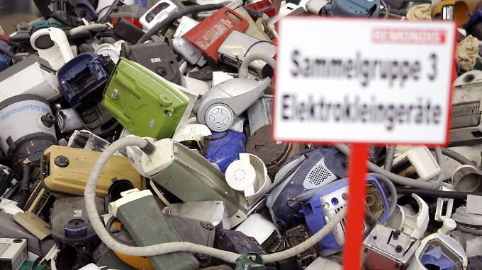 Viele Elektrogeräte sind in den letzten Jahren billiger geworden. Dafür halten sie auch nicht mehr so lange.