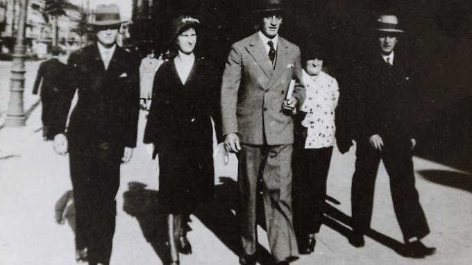 Kazmierczak (ganz rechts) mit seinen Verwandten in Posen.