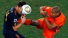 Spanien Weltmeister der Schmerzen: Iniesta bestraft brutale Holländer