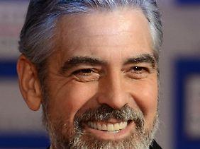 George Clooney ist in letzter Zeit öfter mal in Deutschland.