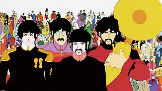 "Psychedelisch, surreal und bunt war das Motto für den Beatles-Film ""Yellow Submarine""."