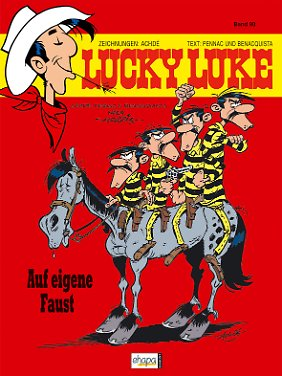 """""""Lucky Luke - Auf eigene Faust"""" ist als Softcover für 5,95 Euro und als Hardcover für 12 Euro erhältlich."""