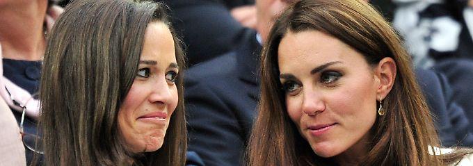 Ob Herzogin Kate (r.) ihrer Schwester Pippa (l) auch schon gesagt hat, dass sie auf ihre Küchenratschläge lieber verzichtet?
