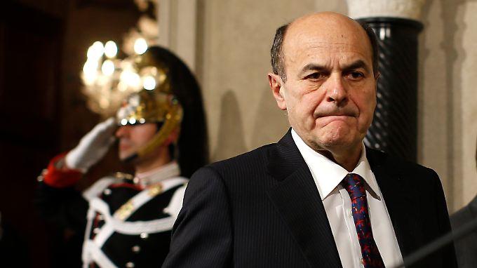 Er soll eine Regierung bilden und einen Präsidenten finden - Pier Luigi Bersani hat keine leichte Aufgabe.