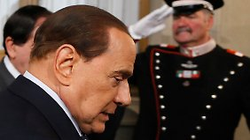 Silvio Berlusconi hat seinen Termin bei Staatspräsident Napolitano schon gehabt.