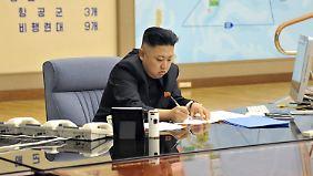 Wie gefährlich Nordkoreas Machthaber Kim Jong Un wirklich ist, lässt sich schwer sagen.