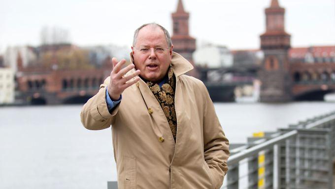 Seit Ende September 2012 ist Steinbrück SPD-Kanzlerkandidat.