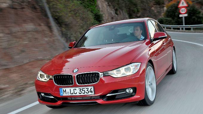 Der BMW 3er war im März Mittelklasse-Bestseller