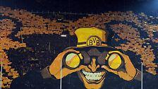Der BVB blieb ungeschlagen und lässt die euphorischen Fans weiter vom ganz großen Coup auf der europäischen Bühne träumen - den die Fans auf der Südtribüne schon vor dem Anpfiff mit einer beeindruckenden Choreographie in den Blick genommen hatten.