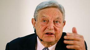 Appell an Deutschland: Soros empfiehlt Austritt aus dem Euro