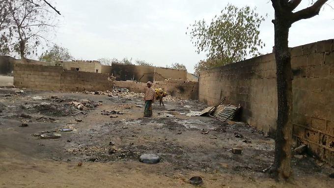 Bereits in den vergangenen Jahren suchte Boko Haram die Stadt Baga heim (Archivbild).