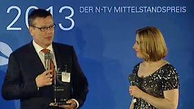 """""""Hidden Champion"""" 2013: Reinhausen GmbH gewinnt n-tv Mittelstandspreis"""