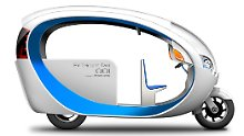 Terra Motors E-Tricycle: Das Tuk-Tuk wird umweltfreundlich