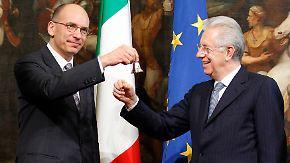 Gegner von Sparpaketen: Letta muss hohen Schuldenberg abbauen