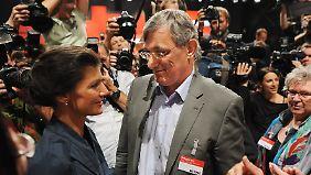 Linken-Chef Riexinger beurteilt die AfD deutlich negativer als Wagenknecht.