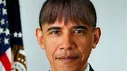 Pony-Frisur für Obama: US-Präsident nimmt sich aufs Korn