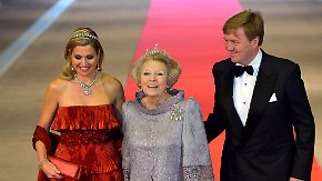 Beatrix lobt Willem-Alexander: Niederländer fiebern Krönung entgegen