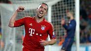 Nach der 4:0-Gala im Hinspiel ließen die Münchner auch im Camp Nou zu keinem Zeitpunkt Zweifel am Endspiel-Einzug aufkommen.