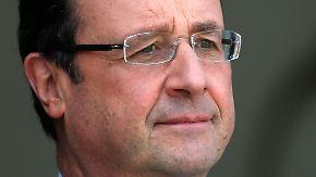 Ungeliebter Staatspräsident: Hollande verliert Vertrauen der Franzosen