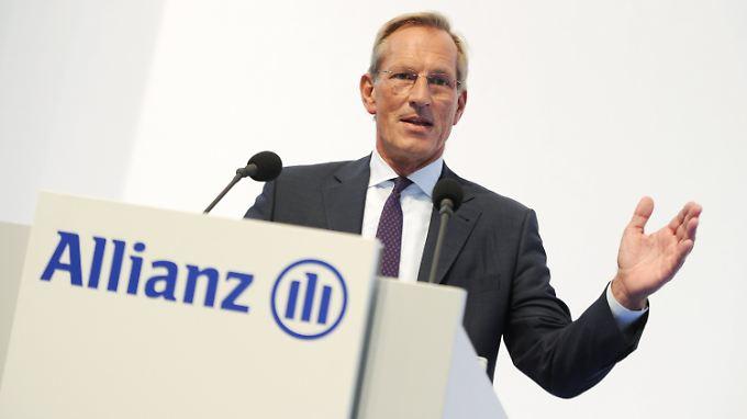 """Allianz-Chef Michael Diekmann erwartet ein operatives Ergebnis für das Gesamtjahr am """"oberen Ende unseres prognostizierten Zielkorridors""""."""