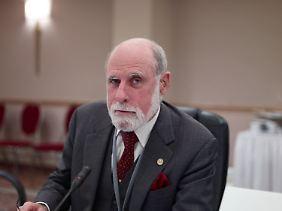 Vint Cerf entwickelte das TCP-Protokoll mit.